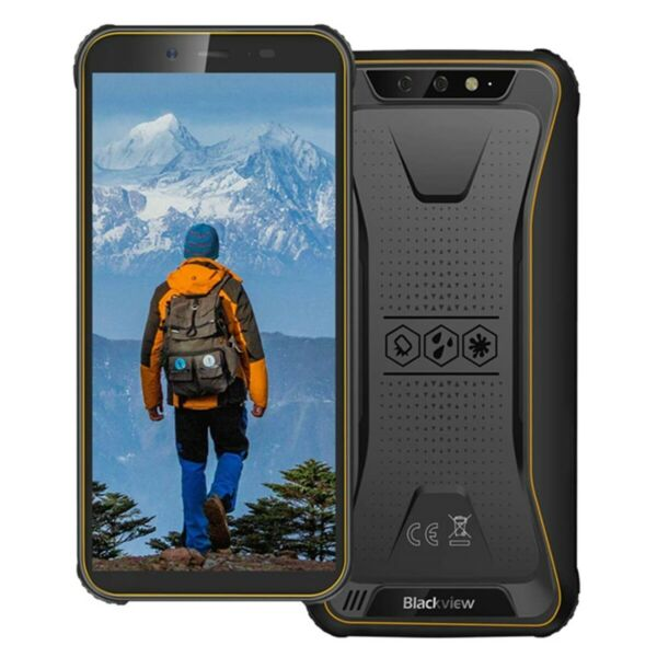 Blackview BV5500 PLUS 4G Rugged Smartphone Android 10 IP68 Cellulare 3GB+32GB