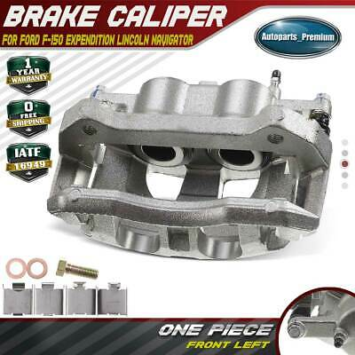Brake Caliper w/ Bracket for Ford F-150 Expendition Lincoln Navigator Front Left