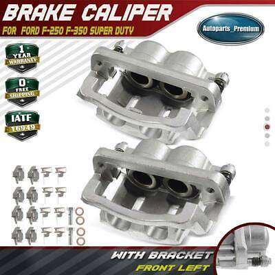 2x Disc Brake Caliper for Ford F-250 F-350 Super Duty 2005 2006 07-12 Front Side