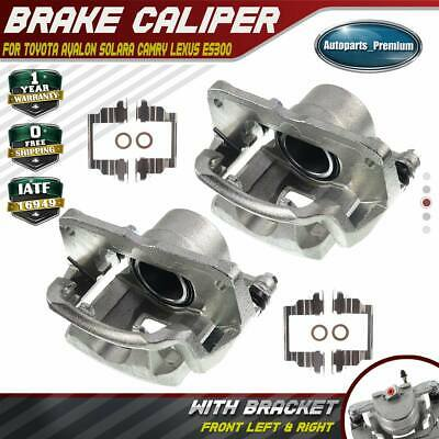 2x Brake Calipers for Toyota Camry Avalon Lexus ES300 V6 3.0L Front Left & Right