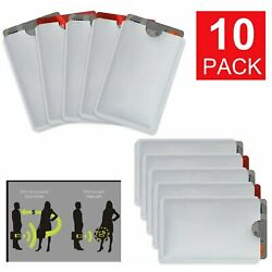 Kyпить 10-Pack Anti Theft Credit Card Protector RFID Blocking Safety Sleeve Shield на еВаy.соm