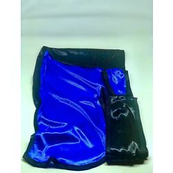 Rimix *PATENT PENDING* Two Tone Silky Durag **Limited Edition** - Black/Blue