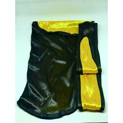 Rimix *PATENT PENDING* Two Tone Silky Durag **Limited Edition** - Black/Egyptian