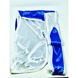 Rimix *PATENT PENDING* Two Tone Silky Durag **Limited Edition** - White/Blue