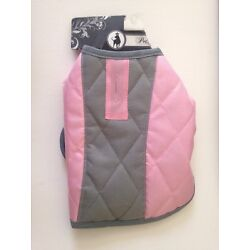 Pet Apparel   Size S Bow Wow Pet Jacket Pink/Gray New
