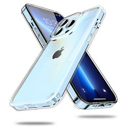 Kyпить For iPhone 12/Pro/Max/Mini/11 Case Crystal Clear Slim Shockproof TPU Phone Cover на еВаy.соm