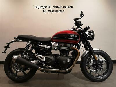 2020 Triumph SPEED TWIN 1200cc Two Tone (20MY) Petrol grey Manual