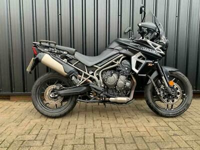 2018 Triumph Tiger 800 XR - Perfect Mid-weight Touring and Adventure  Petrol bla