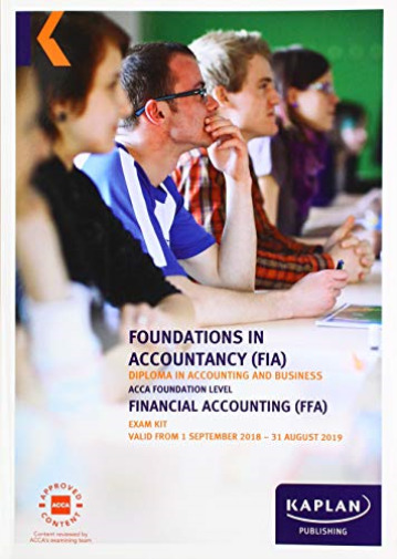 Royaume-UniKaplan -Ffa- Financial Accounting - Exam Kit BOOK NEUF