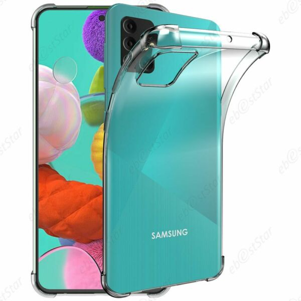 FranceCoque Samsung Galaxy A51 A515F Etui Housse Silicone Rebords Renforcés