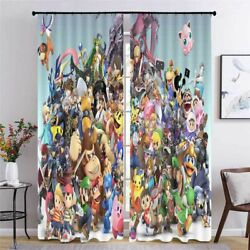 Character Nice Intimacy 3D Curtain Blockout Photo Printing Curtains Drape Fabric
