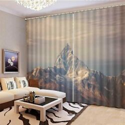 Attack Innuendo Hill 3D Curtain Blockout Photo Printing Curtains Drape Fabric