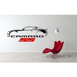 Chevrolet Camaro SS Car Decal Sticker Racing Wall Decal Bedroom Removable Decor