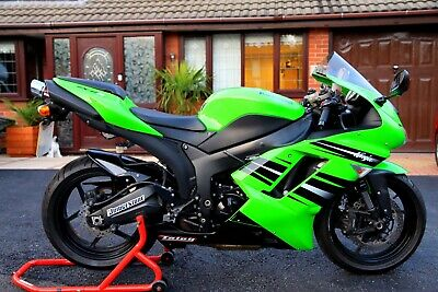 2009 KAWASAKI ZX6R 600 NINJA P8F VERY LOW MILAGE AT 7000 UNDER SEAT EXHAUST