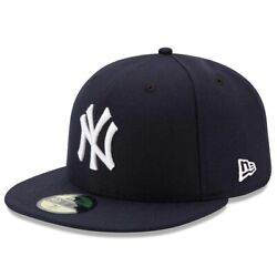 New York Yankees New Era Authentic On-Field 59FIFTY Fitted Hat - Navy
