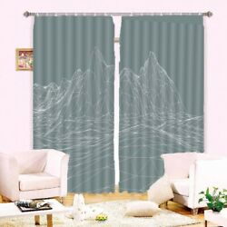 Treat Person Sincerity 3D Curtain Blockout Photo Printing Curtains Drape Fabric