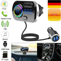 Kyпить KFZ Bluetooth FM Transmitter Car Auto USB Charger Freisprechanlage MP3 Player DE на еВаy.соm