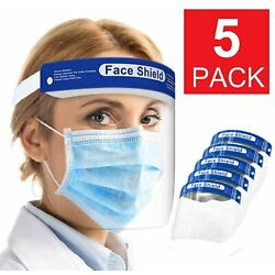 Kyпить Safety Full Face Shield Reusable FaceShield Clear Washable Face Anti-Splash на еВаy.соm