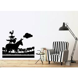 Wall Vinyl Decal Bremen Town Musicians picture fairy tale brothers Grimm (n1339)