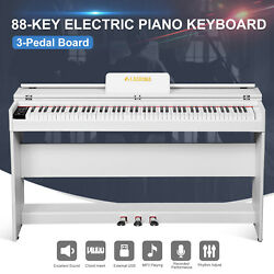 Kyпить 88 Key Piano Keyboard Electric Digital LCD  w/Cover+Stand+Adapter+3Pedal Board на еВаy.соm