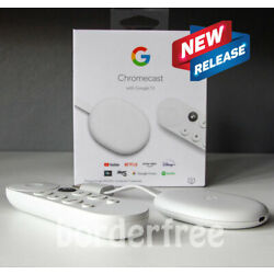 Kyпить Chromecast with Google TV - Streaming Entertainment in 4K HDR - Snow на еВаy.соm