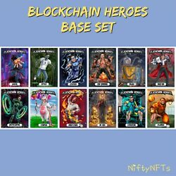 Kyпить (1) Complete BASE SET Blockchain Heroes Series 1 DIGITAL CARDS by Bad Crypto WAX на еВаy.соm