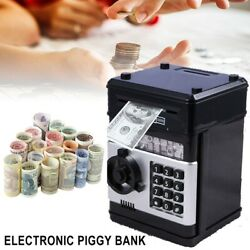 Kyпить Electronic Piggy Bank ATM Password Money Box Cash Coins Saving Automatic Deposit на еВаy.соm