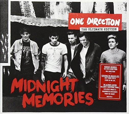 Royaume-UniOne Direction-Midnight  [Deluxe] CD NEUF