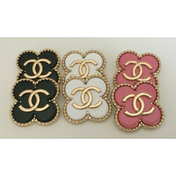 Kyпить Set of 6 Chanel cc buttons, stamped на еВаy.соm