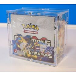 Kyпить NEU - Acryl Pokemon Schutzbox Case Protector für XY Evolutions Display Protector на еВаy.соm