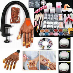 Kyпить Flexible Movable Nail Trainning Practice Hand &Acrylic Powder Kit for Manicure на еВаy.соm