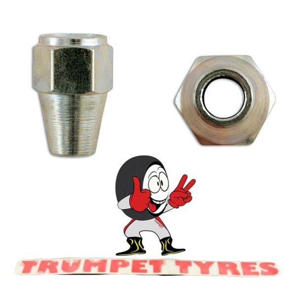Royaume-UniShort  Brake Nuts 7/16'' UNF x 20 TPI For 1/4'' Pipes Handy 31195