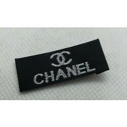 Kyпить 1 Chanel clothing garment label black 38 x 15 mm на еВаy.соm
