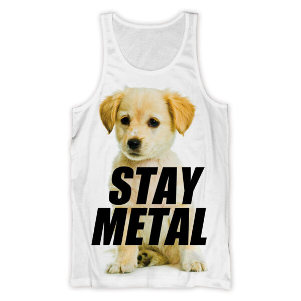 Royaume-UniMISS MAY I - Puppy (Stay Metal) - Débardeur Officiel Femme ( T Shirt )