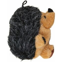 Aspen Booda Corporation Squatters Hedgehog Dog Toy Large 5''x 4 inch Squeaker