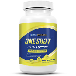 Kyпить One Shot Keto Diet Pill, Advanced Weight Loss Metabolic Support 60 Pills на еВаy.соm