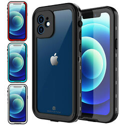 Kyпить For Apple iPhone 12 Pro Max 12 Mini Case Waterproof Shockproof Screen Protector на еВаy.соm