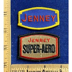 Kyпить Two (2) Cool Jenney Gas Oil Collectible Patches на еВаy.соm