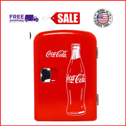Kyпить New Classic Coca Cola 4 Liter/6 Can Portable Fridge/Mini Cooler w/ AC & DC Plugs на еВаy.соm
