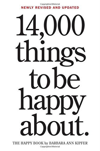 Royaume-UniKipfer, Barbara Ann-14,000 Things To Be Happy About BOOK NEUF