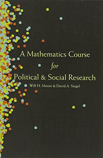 Royaume-UniMoore, Will H.-Mathematics Course For Political And Social Research BOOK NEUF