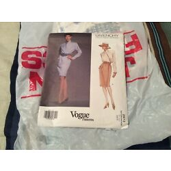 Kyпить VINTAGE PATTERN 1992 VOGUE GIVENCHY PARIS ORIGINAL #2973 на еВаy.соm