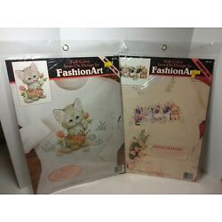 Kyпить 2 Dimensions Fashion Iron-on Cat Decals, Factory Sealed, By Ruth Morehead на еВаy.соm