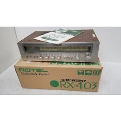 Kyпить Rotel RX-403 Stereo Receiver + IOB + Manual = Clean/Tested/Working/Beautiful на еВаy.соm