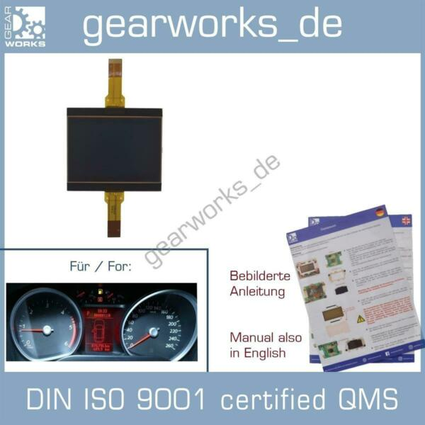 AllemagneCompte-Tours Affichage Pour Ford Mondeo BA7 Kuga MK1 Galaxy WA6 Instrument