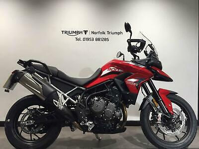 2020 Triumph TIGER 900 GT LRH 890cc Premium Paint (21MY) Petrol red Manual