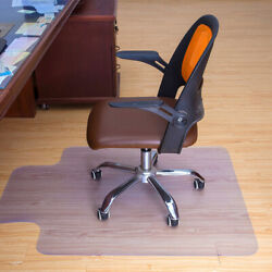 Kyпить USA Mat PVC Home Office Carpet Hard Protector Desk for Floor Chair Tranparent на еВаy.соm