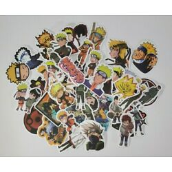 50pc Naruto Random Stickers for Skateboard/Luggage/Laptop flask non-repeting