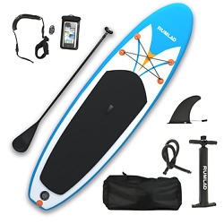 Kyпить Inflatable Stand Up Paddle Board 4 Inches w/ One-Way Sup Dedicated Pump Backpack на еВаy.соm