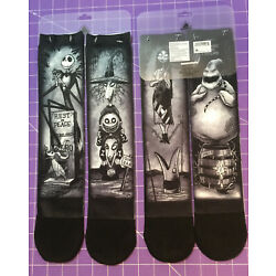 Kyпить ???? Disney Parks Socks The Nightmare Before Christmas Haunted Mansion Socks NEW на еВаy.соm